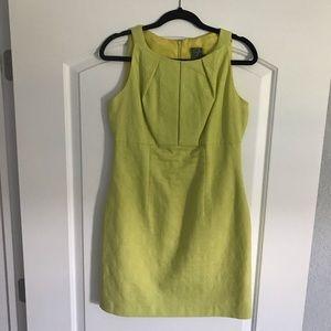 TAYLOR DRESS mustard Yellow. Sleeveless Size 8